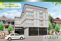 Elegant Metro Manila Properties: SYQUIA TOWNHOMES Affordable Townhouse for Sale in ... Makati, Manila, Townhouse, The Unit, Mansions, Elegant, House Styles, Modern, Home