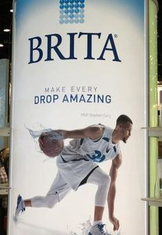 Brita and basketball star Stephen Curry are launching the Splash Studio drinking water campaign.