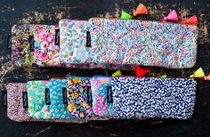 novamelina  Cutest pouches etc./ Ihanimmat pussukat ym: www.novamelina.com  #colorful #handmade #unique #pouch #pouches #liberty #art #fabrics #kawaii #finnish #design #shop #boho #libertyoflondon #bohochic