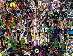 Legion of Super-Heroes, via Flickr.