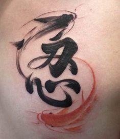 Koi Tattoo Design, Tatoo Designs, Mini Tattoos, Body Art Tattoos, Tattoos For Guys, Clavicle Tattoo, Arm Tattoo, Tattos, Tatuaje Trash Polka