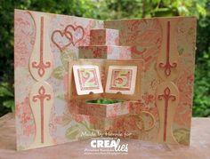 Downloads Crealies Create A Card no. 18 Welkom bij Crealies