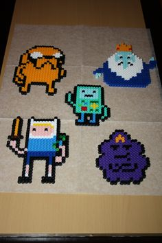Adventure Time Perlers