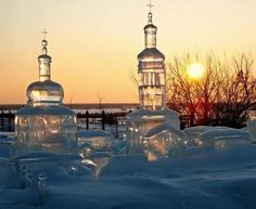 The city in ice - Cool Pictures