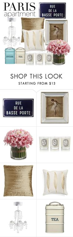 """""""Untitled #41"""" by sillymira ❤ liked on Polyvore featuring interior, interiors, interior design, home, home decor, interior decorating, John-Richard, Diptyque, Austin Horn Collection and Levtex"""