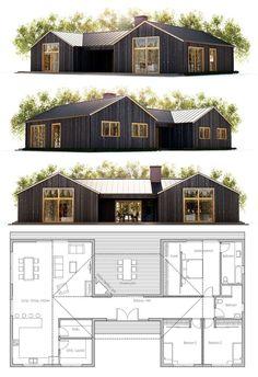 Pole Barn Homes 79 #EasyIdeasForInteriorPlanningAndHomeDecor