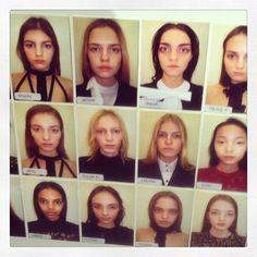 The gorgeous @JillStuart cast - amazing selection by @andrewxweir #fashion #models #nyfw