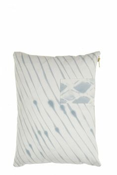 Painterly Stripes Pillow