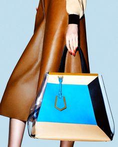 Fendi S/S 2013 total look Clutch Purse, Purse Wallet, Bcbg, Vogue Covers, Fendi Bags, Cheap Bags, Buy Cheap, Travel Tote, Online Bags