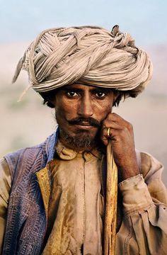 Farmer - Baluchistan © Steve McCurry