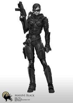 GI Joe Baroness by Massive Black | Human Concept Art | Pinterest