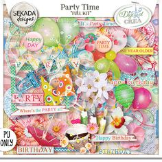 Save 50% off Party Time - Full Kit