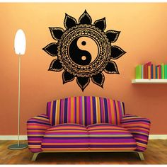 Decorate your home with beautiful and affordable vinyl decals for your walls. It is the newest home decor trend. It's easy to apply and really makes a room look elegant. Without much effort and cost y