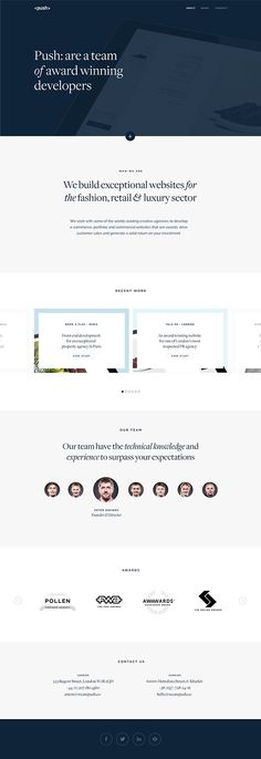 Minimal Web Design Inspiration //