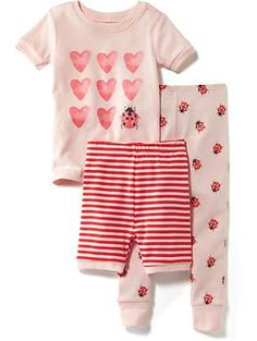 3-Piece Graphic Sleep Set for Baby   Old Navy