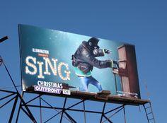 Sing Gorilla Johnny billboard Beverly Boulevard