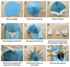 How to Train Your Dragon Easy Baseball Hat DIY with Free Printable Pattern - Bren Did