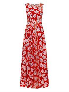 Floral-print silk gown | Nina Ricci | MATCHESFASHION.COM US