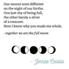 Together we are the full moon.// Poetry, poem, quote, quotes about strength, poem for teens, anxiety poem, anxiety quote, dealing with anxiety, anxiety relief, faith, overthinking, depression, truths, deep, positive, Jennae Cecelia quotes, poetry, beautiful poems about life, poems for teens, feelings, love, inspiration, quotes to live by, motivational, for success, for life, self-love, self-confidence, self-care