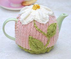 ❄Crochet Tea Cosies, Mug Hug Snugs and Cuppa Cosies.    Daisy Tea Cosy
