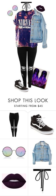 """Purple"" by ptv-sws-bmth ❤ liked on Polyvore featuring Boohoo, Vans, Sunday Somewhere and Joomi Lim"