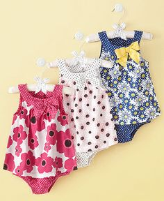 First Impressions Baby Sunsuit, Baby Girls Sundress - Kids Baby Girl months) - Macy's at Westshore Plaza in Tampa Baby Kind, My Baby Girl, Baby Love, Baby Girls, Toddler Outfits, Kids Outfits, Summer Outfits, Baby Girl Fashion, Kids Fashion