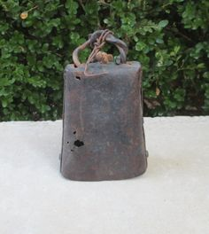Antique COW BELL, SHEEP Bell, Farm Bell, Riveted, Old and Rustic, Great County Farmhouse Decor
