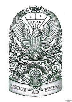 Photo category Spqr tattoo at number description Roman Military Tattoos lt Images amp Spqr Tattoo, Eagle Tattoos, Leg Tattoos, Sleeve Tattoos, Empire Tattoo, Roman Warriors, Roman Legion, Tatoo, Leather Bracelets