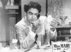 Ashok Kumar, Kishore Kumar, Bollywood Posters, Bollywood Pictures, Legendary Singers, Miss Mary, Romantic Mood, Vintage Bollywood, Film Industry