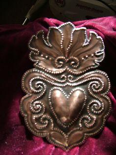 Flaming Heart by giftedhandsstudio on Etsy, $30.00