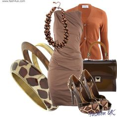 Outfits For ladies...#animal print. #womens fashion #business attire