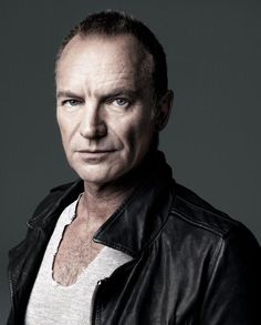 Sting photographed by Marco Grob.