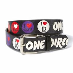 A #OneDirection belt is a great way to show your #1DLove