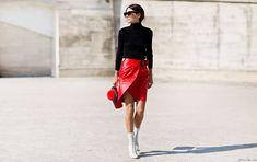 Diletta Bonaiuti paris fashion week street style asia type garance core photos
