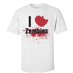 Check out this design from FunnyShirts.org. #zombie #zombies