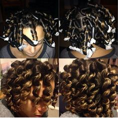 Flexi Rod Set @mscatrin - http://www.blackhairinformation.com/community/hairstyle-gallery/natural-hairstyles/flexi-rod-set-mscatrin/ #naturalhairstyles
