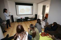 WALKTALK design tour visiting home studio of Jewelry designer Noa Goren
