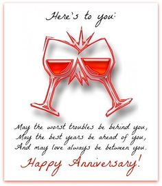 Send anniversary wishes with over 50 messages, greetings, graphics, and cards. Suggestions for both a couple wishing each other a happy anniversary or a friend/family member sending wishes! Happy Aniversary Wishes, Anniversary Quotes For Friends, Happy Wedding Anniversary Quotes, Anniversary Wishes For Couple, Happy Wedding Anniversary Wishes, Anniversary Pictures, Wedding Quotes, Happy Anniversay, Marriage Anniversary Cards