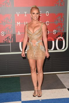 Pin for Later: See All the Stars on This Year's MTV VMAs Red Carpet! Britney Spears