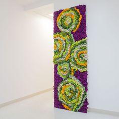 Preserved Lichen Moss Wall Art