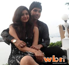 Actress Ritabhari Chakraborty and Actor Sagar Dutta at launch of Bengali movie PREM UNLIMITED in Kolkata - full photo feature at http://www.washingtonbanglaradio.com/content/74437412-prem-unlimited-bangla-movie-goes-floors-newcomers-ritabhari-and-sagar-set-dazzle