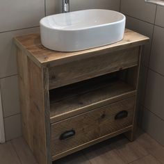 This Image of my Lincoln washstand installed in this beautiful bathroom shared by this happy customer