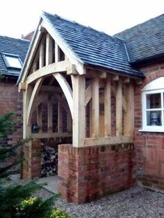 Oak Porch ENTRANCE GREEN OAK CANOPY DOOR Built To Size & Oak Porches Image Gallery   Hartwood Oak Buildings http://www ... Pezcame.Com