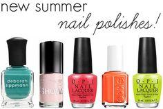 Summer 2014 nail polishes