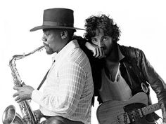 Bruce and Clarence. One of my favorite pics.
