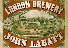 John Labatt Brewery Tours London Ontario O Canada, Canada Travel, Canada Trip, Vintage London, Vintage Ads, Vintage World Maps, London Tours, London City, I Am Canadian