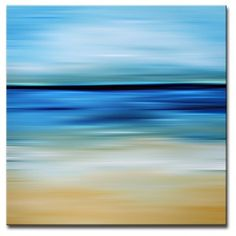Ready2HangArt 'Blur Stripes IV' Canvas Wall Art - 18001317 - Overstock.com Shopping - The Best Prices on Ready2HangArt Gallery Wrapped Canvas