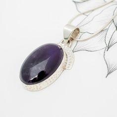 Amethyst Oval Drop Pendant | Charlotte's Web Charlotte's Web, Winter Season, Buy Now, Amethyst, Gemstone Rings, Drop, Jewellery, Pendant, Stuff To Buy