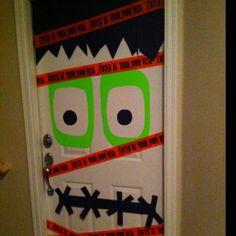 Halloween door!