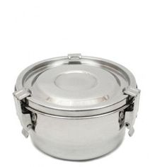 MONTHLY SALE - SS Airtight Food Storage Container - 10 cm / 4""